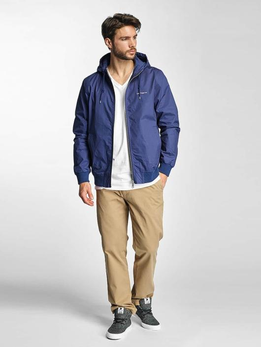 Carhartt WIP Lightweight Jacket Marsh Cotton Poplin blue