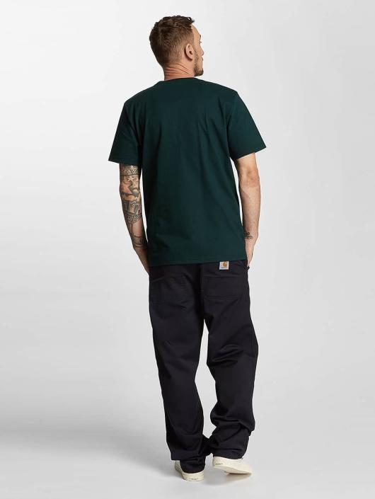 Carhartt WIP Loose Fit Jeans Denison Twilll Simple niebieski