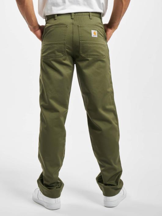 Carhartt WIP Loose Fit Jeans Denison zielony