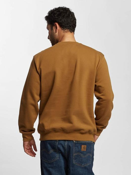 Carhartt WIP Pullover frequenzy braun