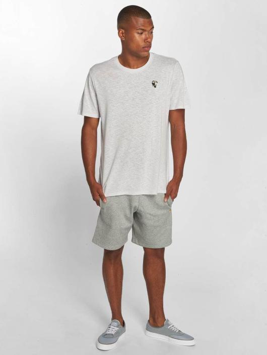 Carhartt WIP Short Chase Cotton/Polyester Heavy Sweat Shorts gray
