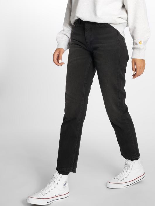 Carhartt WIP Slim Fit Jeans Arkansas svart