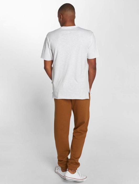 Carhartt WIP Spodnie do joggingu Chase Cotton/Polyester Heavy Sweat brazowy