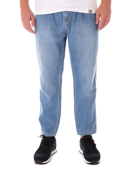 Carhartt WIP Spodnie do joggingu Abbott niebieski