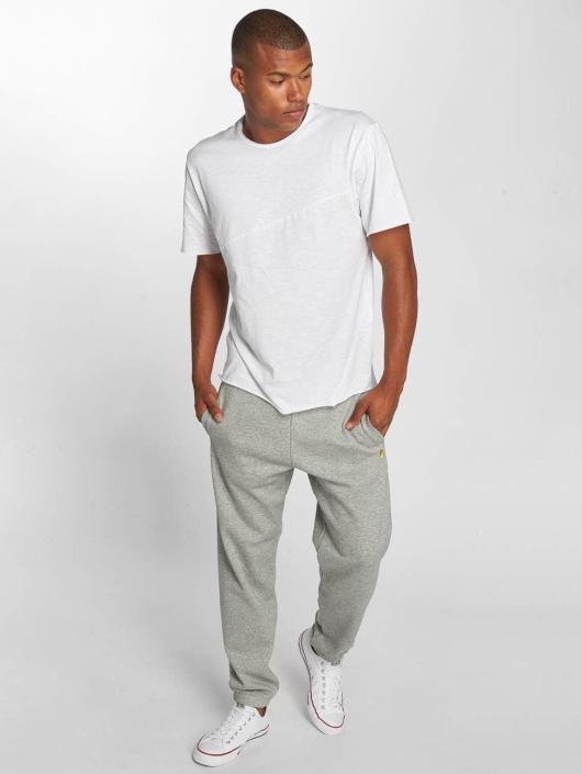 Carhartt WIP Spodnie do joggingu Chase Cotton/Polyester Heavy Sweat szary