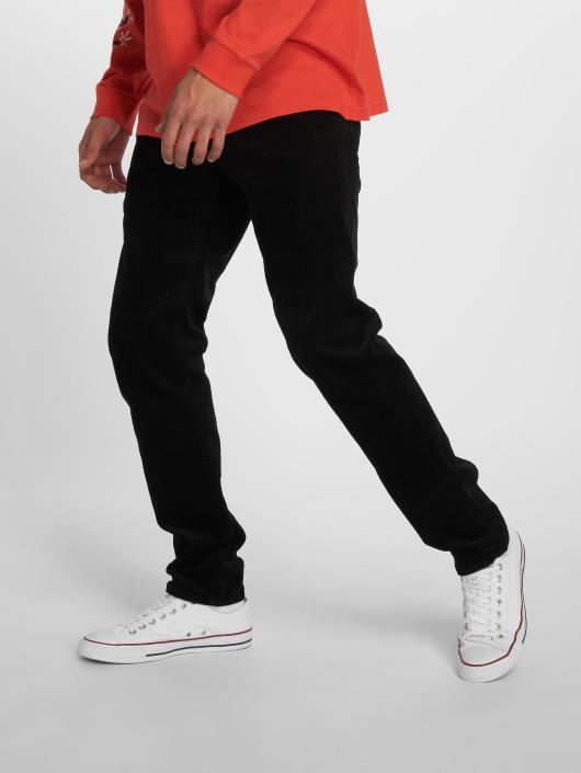 Carhartt WIP Spodnie sztruksowe Klondike Straight Fit czarny