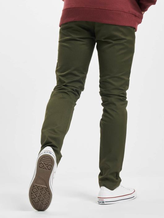 Carhartt WIP Spodnie wizytowe WIP Lamar Slim Fit Sid zielony
