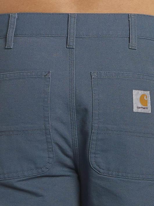 Carhartt WIP Stoffbukser Dearborn Double Knee blå
