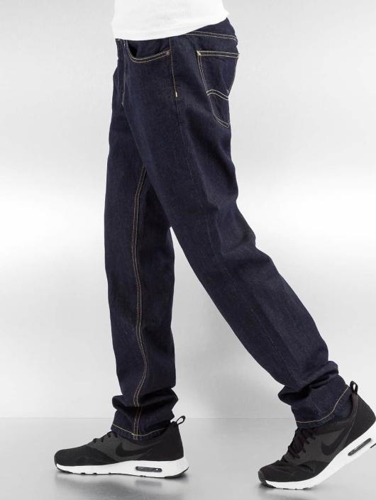 Carhartt WIP Straight Fit Jeans Hanford Texas blå
