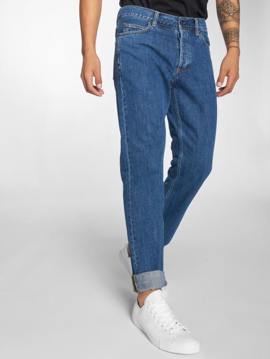 Carhartt WIP Straight Fit Jeans Texas blå