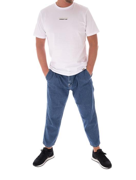 Carhartt WIP Straight Fit Jeans Abbott blå