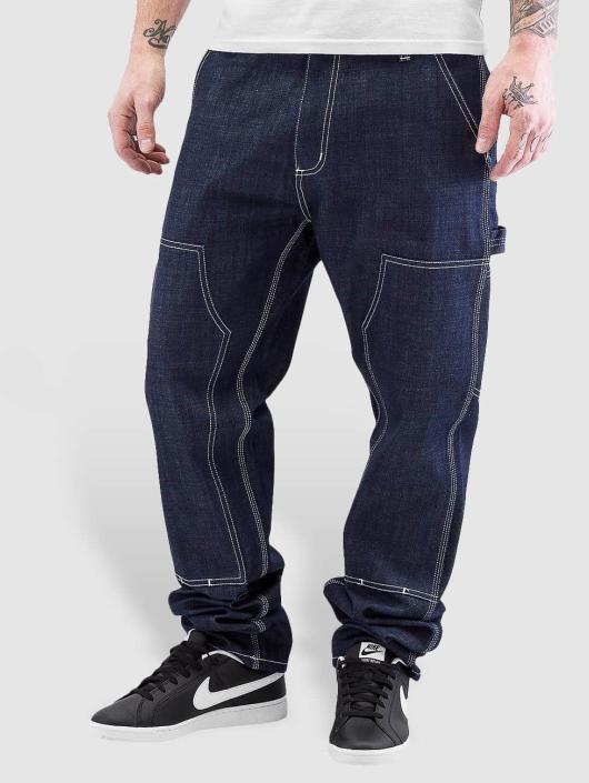 Carhartt WIP Straight Fit Jeans Ruck Double Knee blau