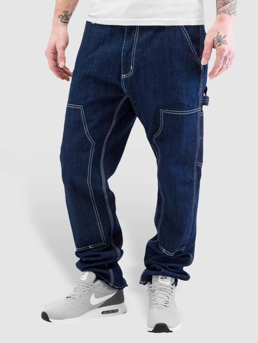 carhartt wip herren straight fit jeans ruck in blau 223958. Black Bedroom Furniture Sets. Home Design Ideas
