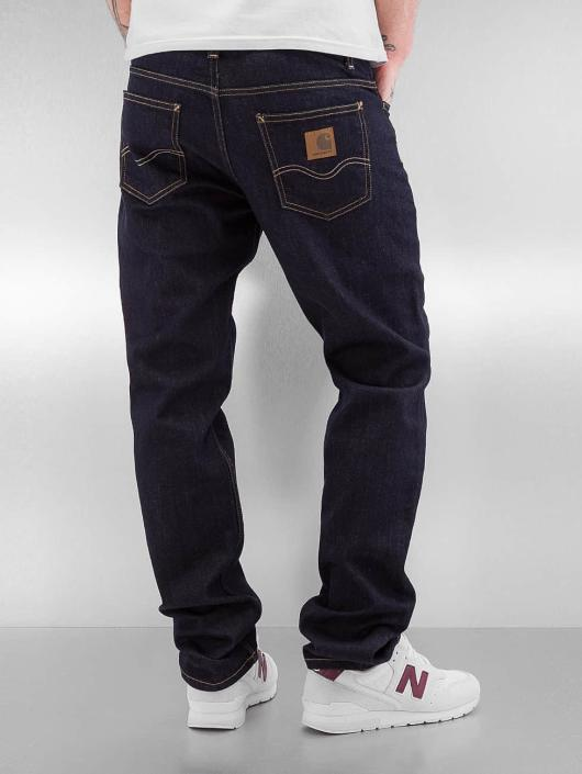 Carhartt WIP Straight Fit Jeans Texas Pant blue