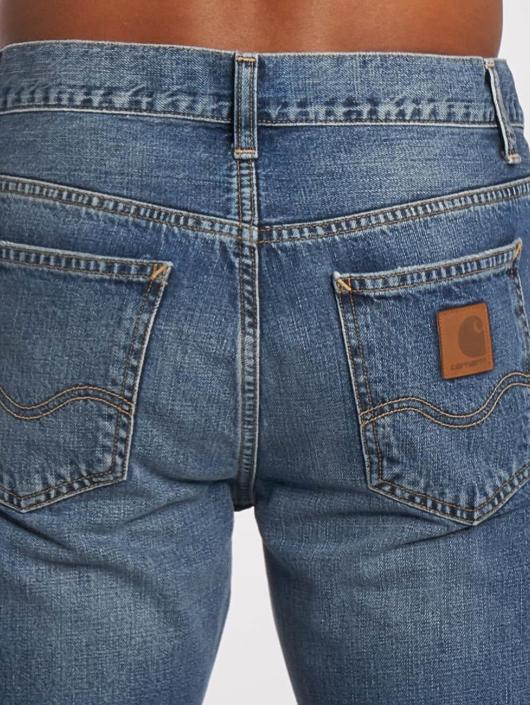 Carhartt WIP Straight Fit Jeans Edgewood Texas blue