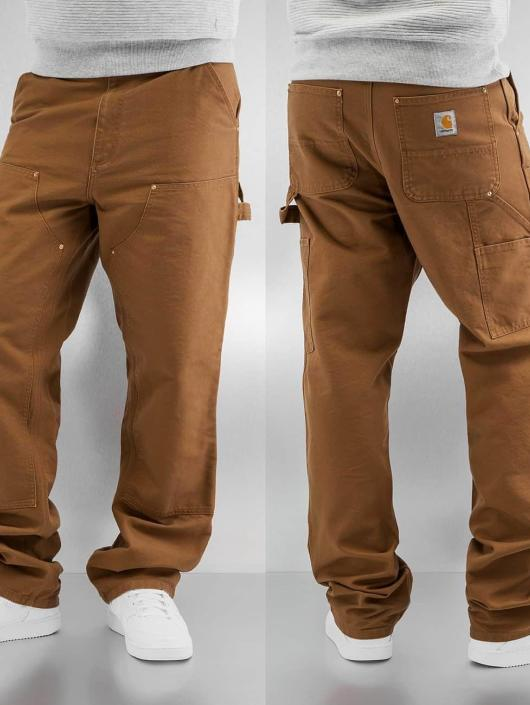 Carhartt WIP Straight Fit Jeans Turner Double Knee braun