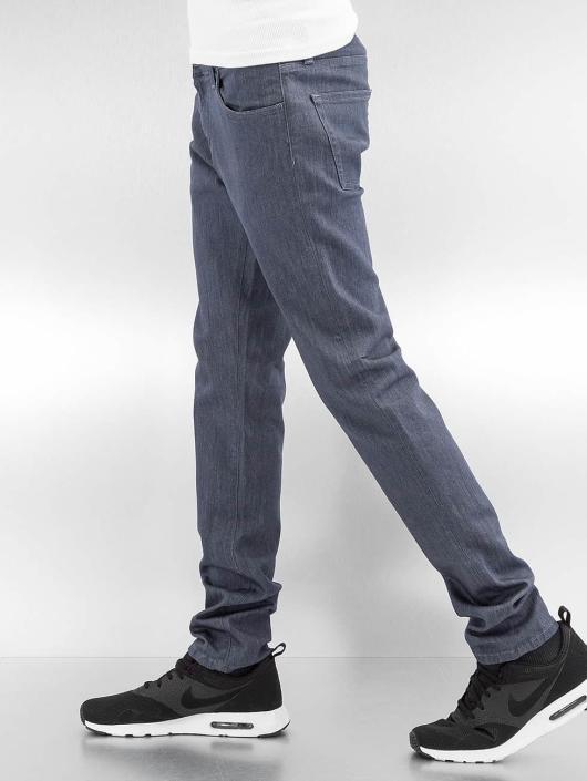 Carhartt WIP Straight Fit Jeans Greeley Rebel grau
