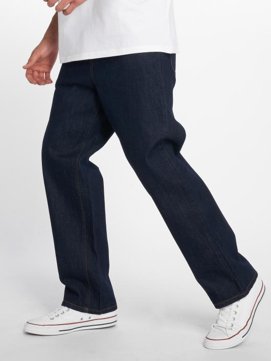 Carhartt WIP Straight Fit Jeans Smith modrý