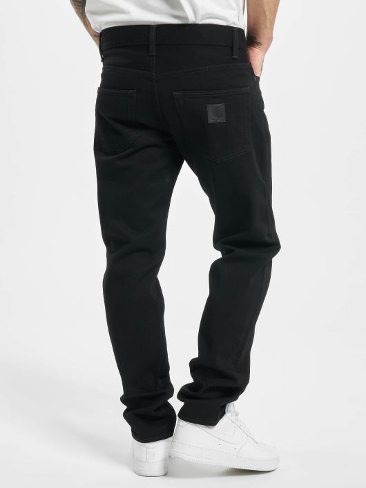 Carhartt WIP Straight Fit Jeans Maitland Klondike svart