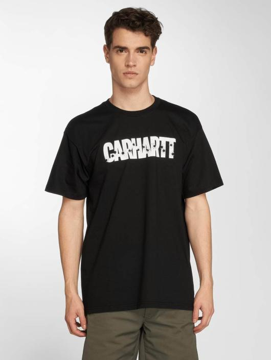 Carhartt WIP T-Shirt Shooting Cotton Loose Fit black