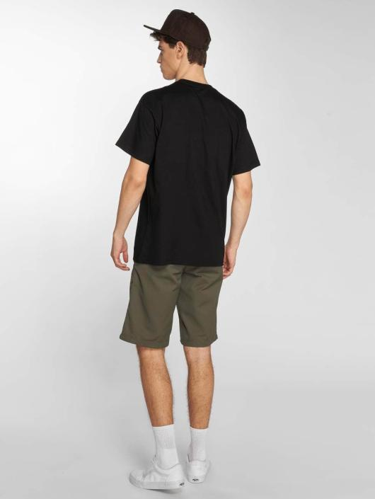 Carhartt WIP T-Shirt Circles Cotton Loose Fit black