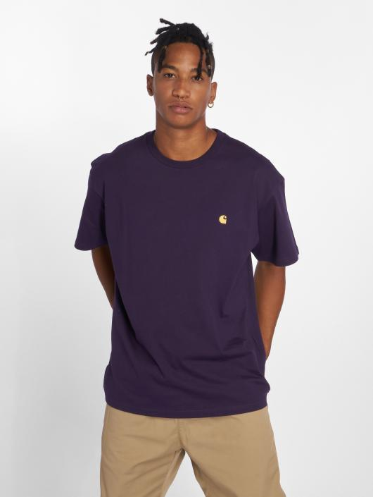 Carhartt WIP T-Shirt Chase violet