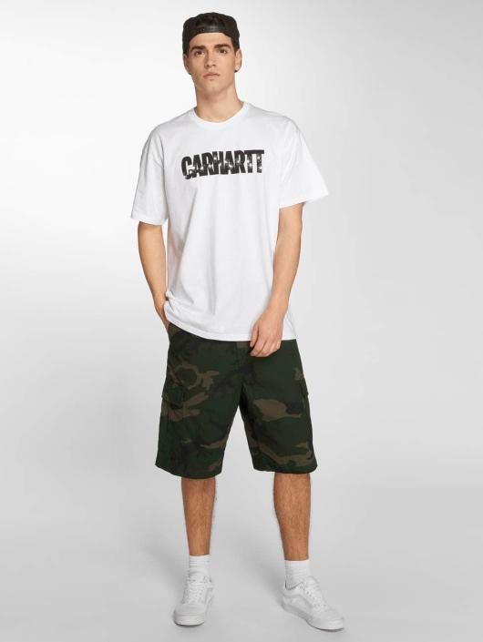 Carhartt WIP T-Shirt Shooting Cotton Loose Fit white