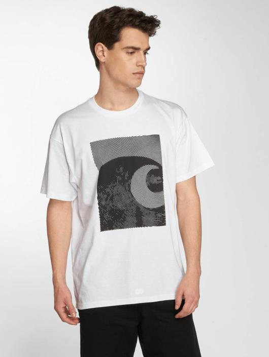 Carhartt WIP T-Shirt Circles Cotton Loose Fit white