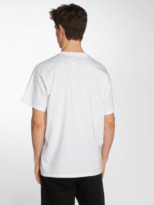 Carhartt WIP T-Shirty Circles Cotton Loose Fit bialy