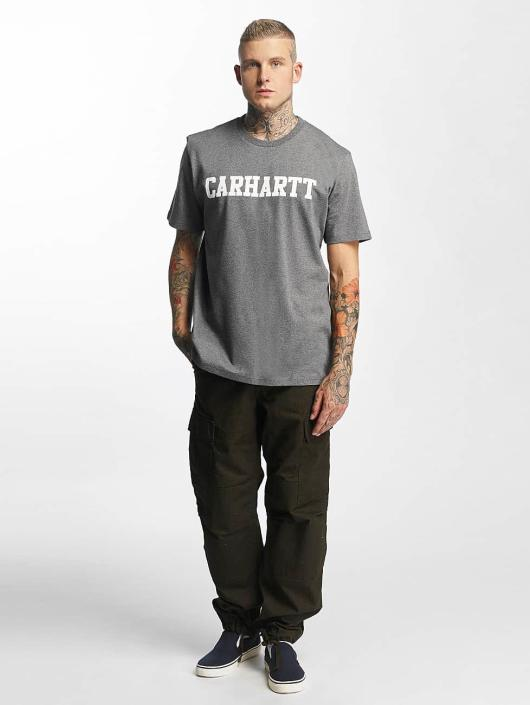 Carhartt WIP T-Shirty College szary