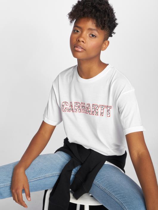Carhartt WIP T-skjorter Hearts hvit