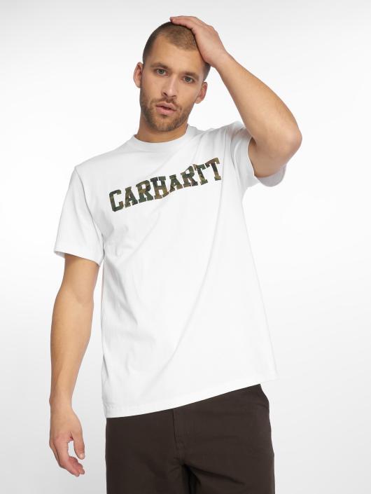 Carhartt WIP Tričká College biela