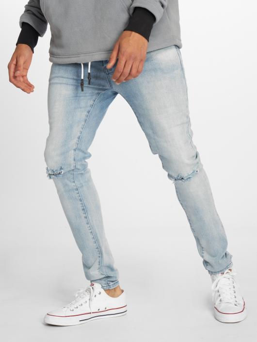 Cayler & Sons Straight Fit Jeans Alldd Team Ren blue