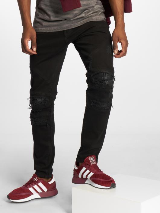 Cayler & Sons Straight Fit Jeans Alldd Paneled Inverted svart