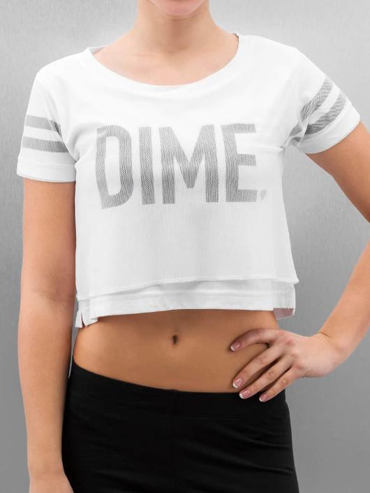 Cayler & Sons T-Shirt BL Dime Mesh Overlay Crop weiß