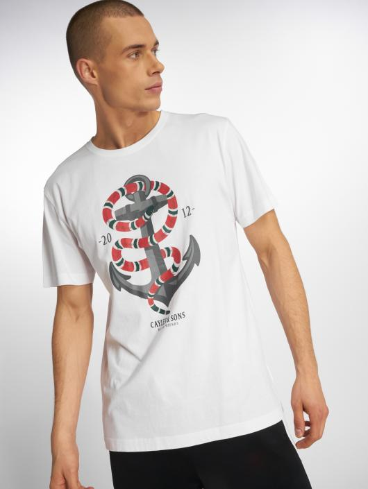 Cayler & Sons T-Shirty Wl Anchored bialy