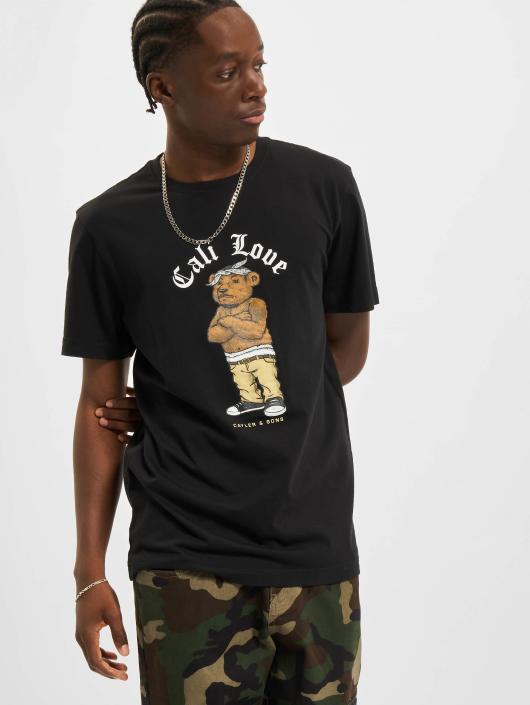 Cayler & Sons T-Shirty C&s Wl Cee Love czarny