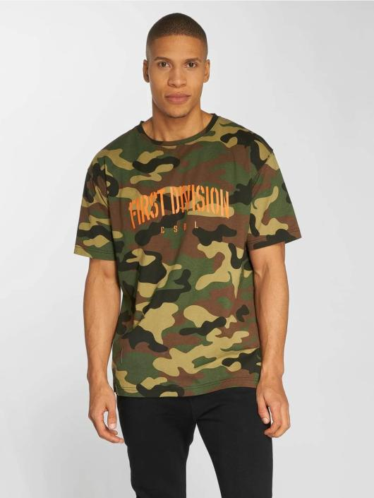 Cayler & Sons T-Shirty CSBL Patched Oversized moro