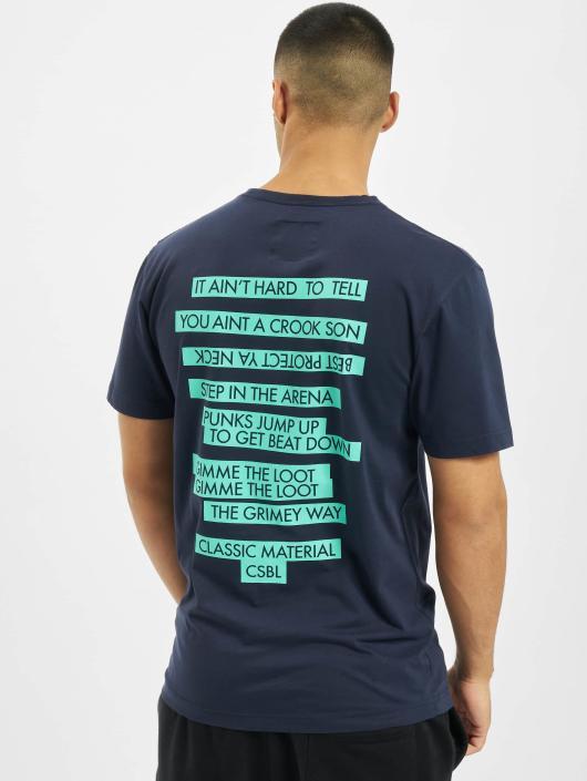 Cayler & Sons T-Shirty CSBL Decennivm niebieski