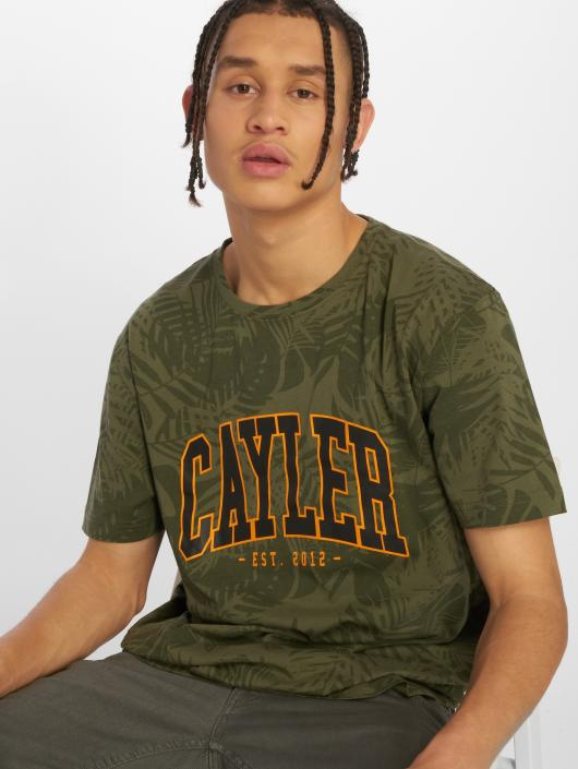 Cayler & Sons T-Shirty C&s Wl Palmouflage oliwkowy