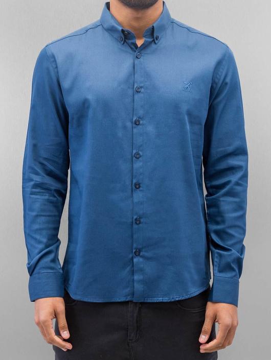 Cazzy Clang overhemd Norick blauw