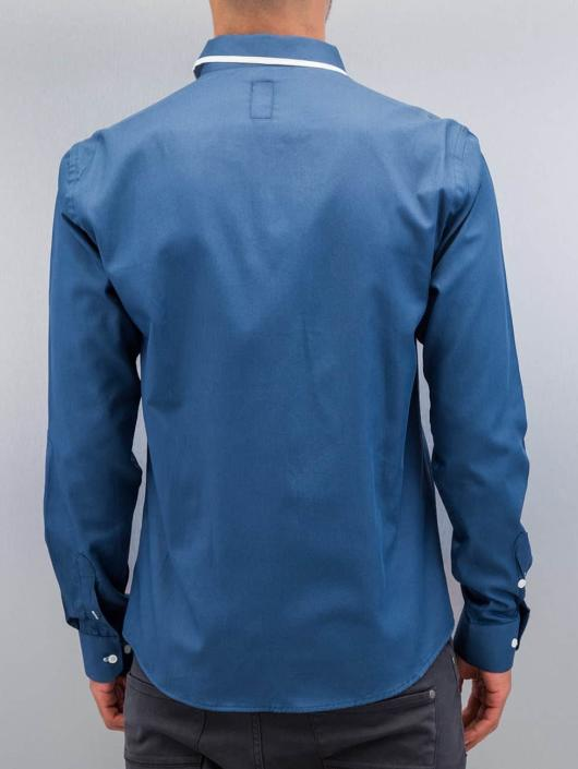 Cazzy Clang overhemd Quinn II blauw