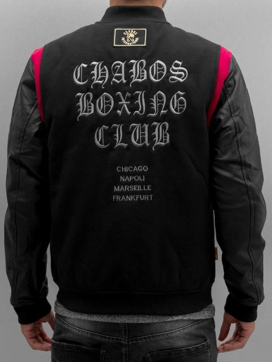 CHABOS IIVII Basebalové bundy CBC èierna