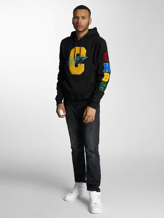 CHABOS IIVII Bluzy z kapturem College czarny