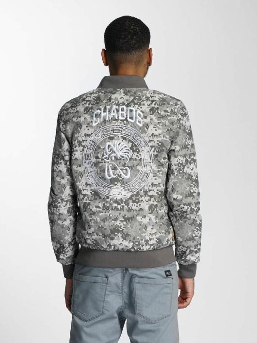 CHABOS IIVII Bomber jacket Digica Reversible Bomber olive