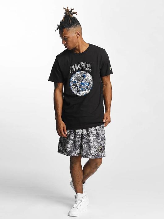 CHABOS IIVII Camiseta Camo Palazzo negro