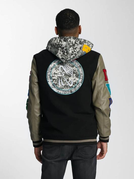CHABOS IIVII College Jackets COLWOOJAC czarny
