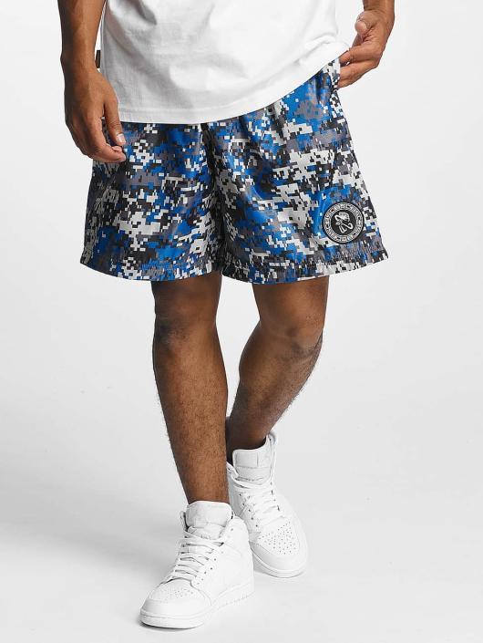 CHABOS IIVII Shorts Camo blå