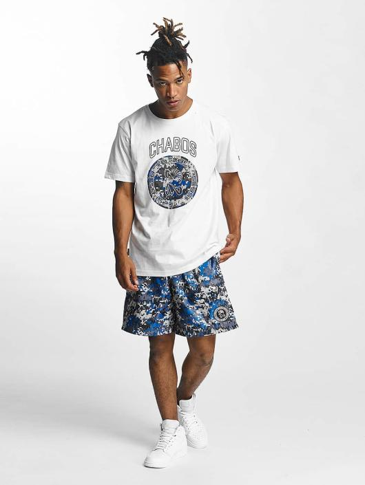 CHABOS IIVII T-Shirt Camo Palazzo white