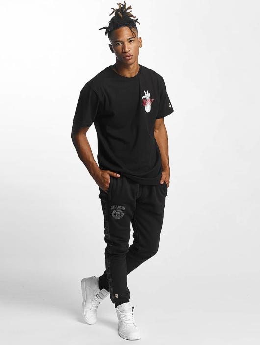 CHABOS IIVII T-Shirty Djart czarny